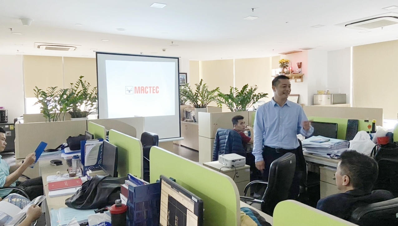 Workshop to introduce new technology with Mactec Company
